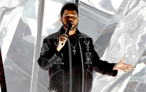The Weeknd - Flashes Satan On Big Screen During Concert